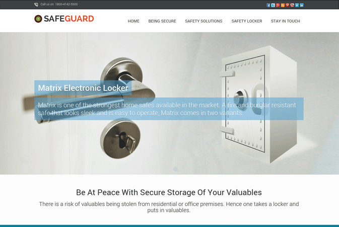 SafeGuard wp theme