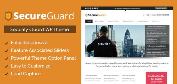 WordPress Theme For Security Guards | InkThemes
