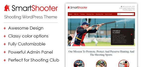 Shooting WordPress Theme