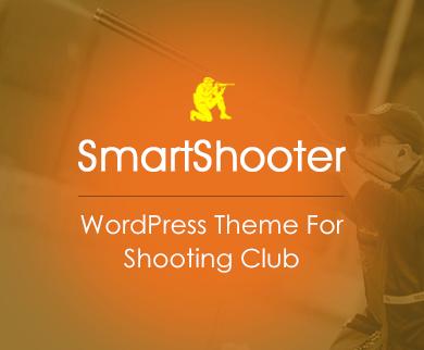 SmartShooter - Shooting WordPress Theme