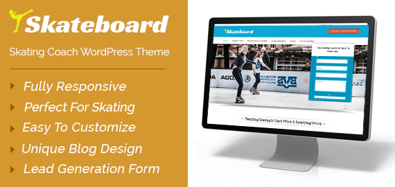 Skating Coach WordPress Theme