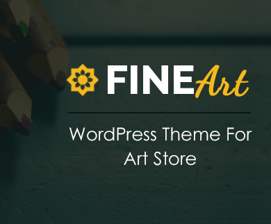 FineArt - Art Store WordPress Theme