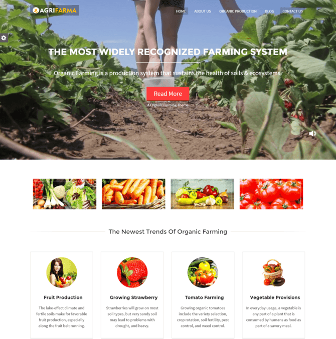 agriframa WP Theme