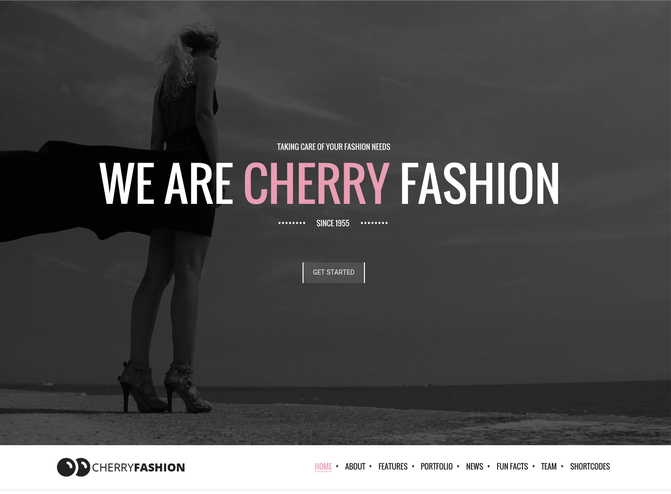 cherry wp theme