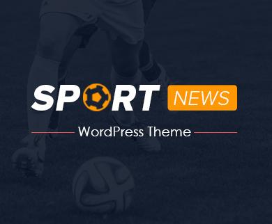 SportsNews - Sports News & Events WordPress Theme