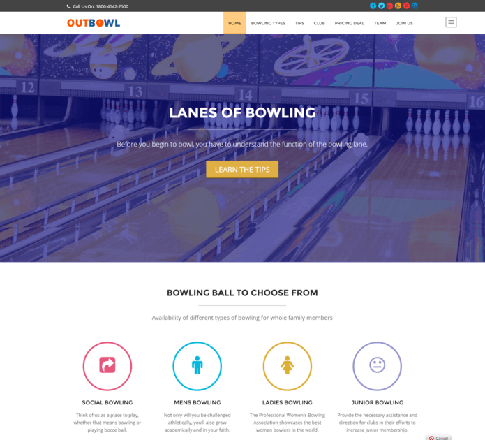 outbowl wp theme