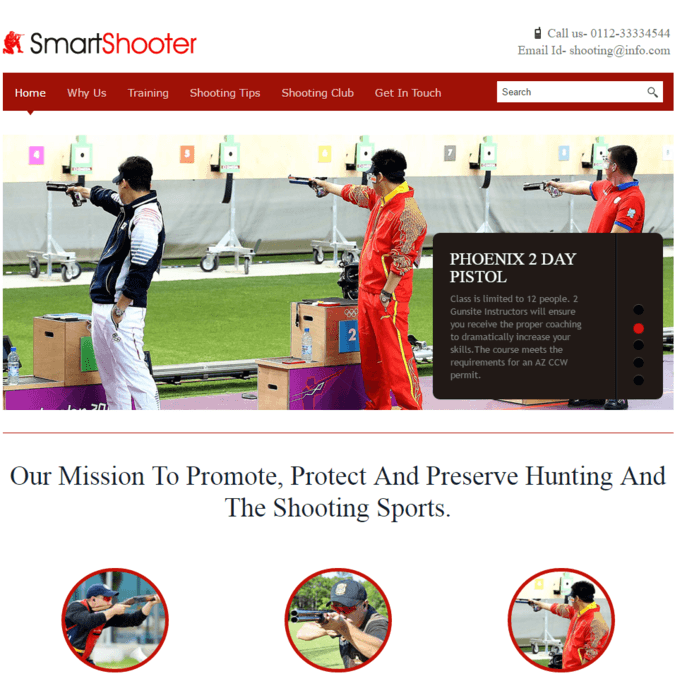 smart shooter wp theme