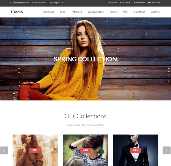 titania wp theme