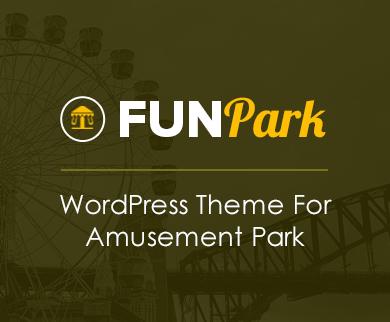 FunPark - Amusement Park WordPress Theme