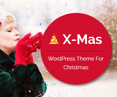 X-Mas - Christmas WordPress Theme