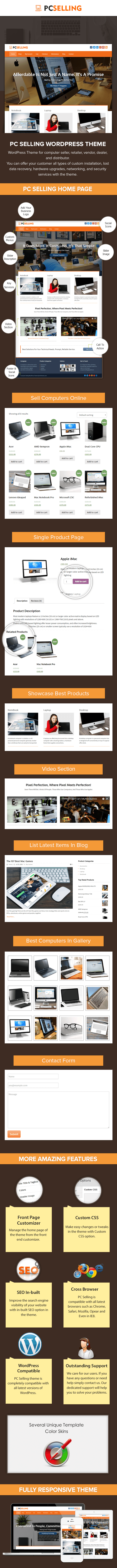 Computer Selling WP Theme