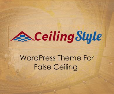 CeilingStyle - False Ceiling & Repairing Service WordPress Theme