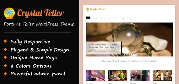 Fortune Teller WordPress Theme