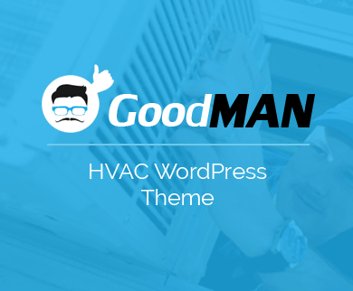 GoodMan - HVAC Repairing Services WordPress Theme