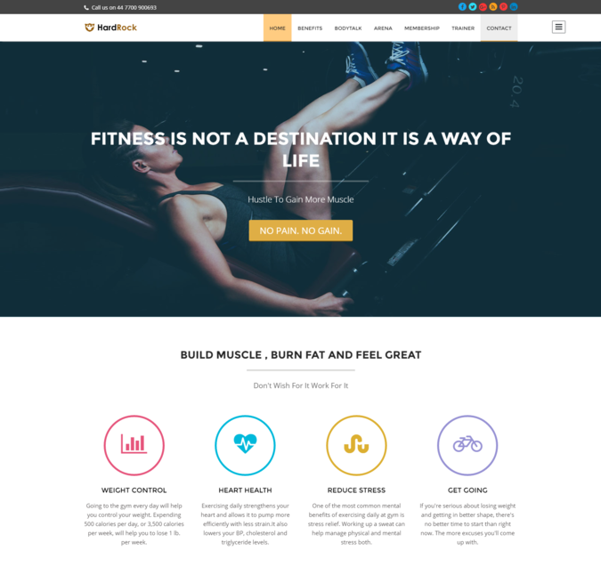 hard rock wp theme