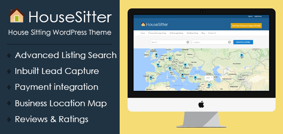 House Sitting WordPress Theme