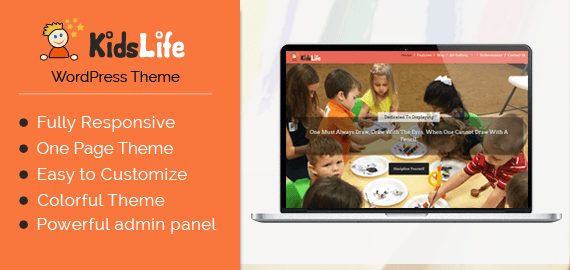 Kids Art School WordPress Theme