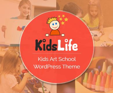 KidsLife - Kids Art School & Academy WordPress Theme