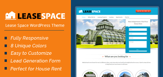 Lease Space WordPress Theme