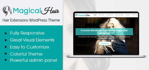 MagicalHair – Hair Extensions Center WooCommerce WordPress Theme