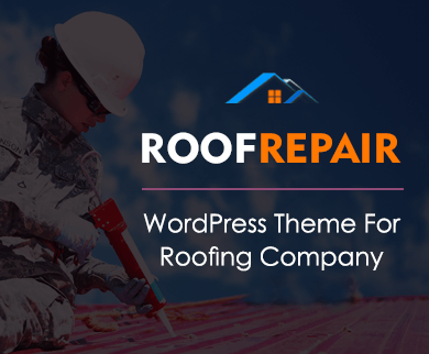 RoofRepair - Roofing Company WordPress theme