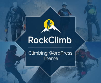 RockClimb - Climbing WordPress Theme