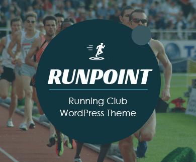 RunPoint - Running Club & Sports Fitness Center WordPress Theme