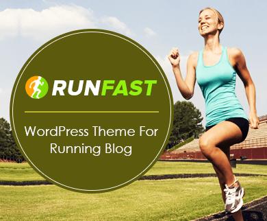 RunFast - Running Blog WordPress Theme