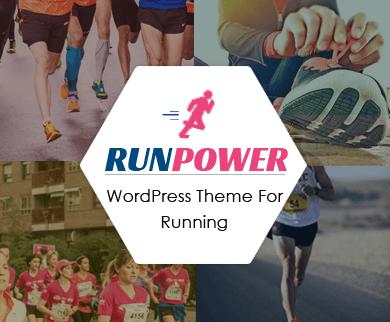 RunPower - Running WordPress Theme