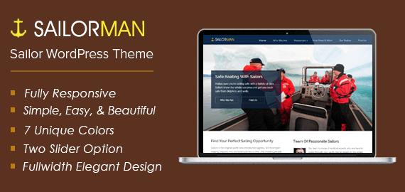Sailor WordPress Theme