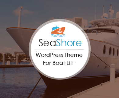 SeaShore - Boat Lifts WordPress Theme