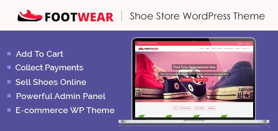 Shoe Store WordPress Theme