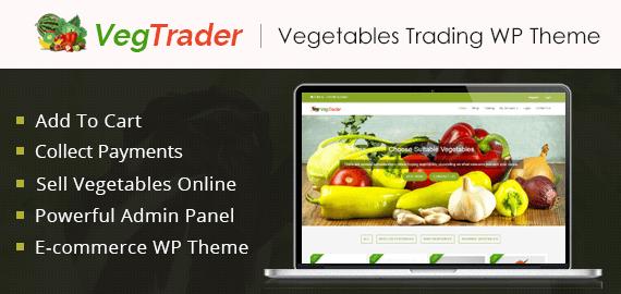 Vegetables Trading WordPress Theme