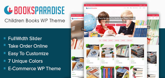 Children Books Store WordPress Theme