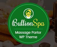 Bullion SPA  - Massage Parlor WordPress Theme