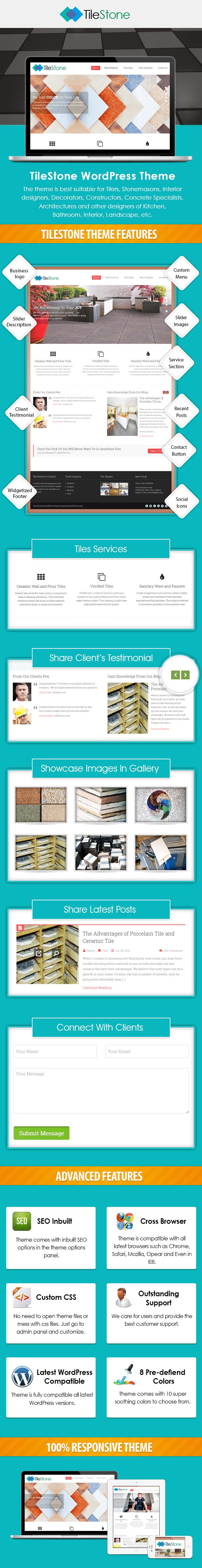 TileStone - Tiles Business WordPress Theme | InkThemes