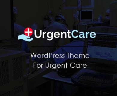 UrgentCare - Urgent & Intensive Medical Care WordPress Theme