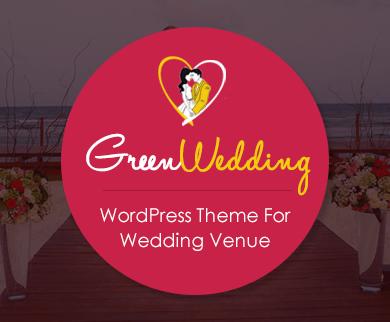 GreenWedding - Wedding Venue WordPress Theme