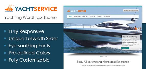 Yachting WordPress Theme