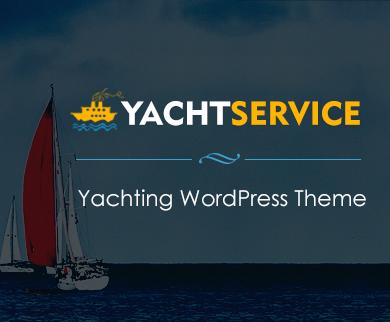 YachtService - Yachting WordPress Theme