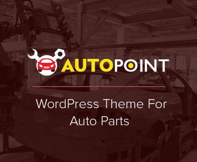 AutoPoint - Auto Part WordPress Theme