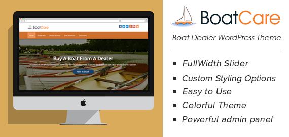 Boat Dealer WordPress Theme