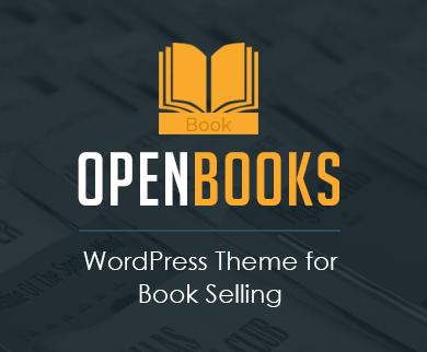 OpenBooks - Book Selling WordPress Theme