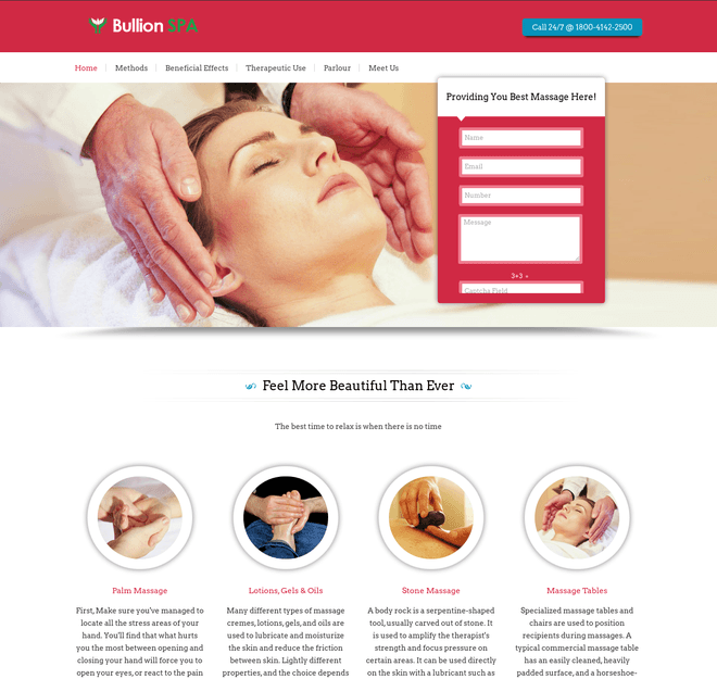 bullion spa wp theme
