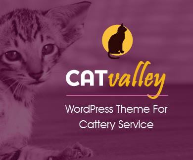 CatValley - Cattery WordPress Theme