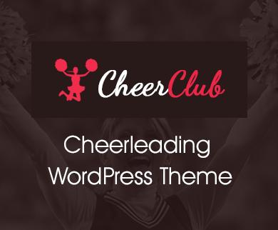 CheerClub - Cheerleading WordPress Theme
