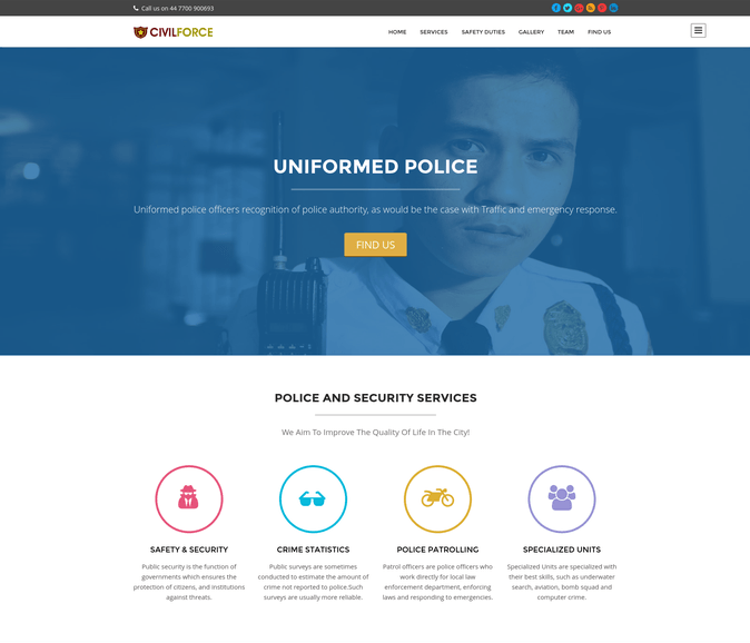 civil force wp theme