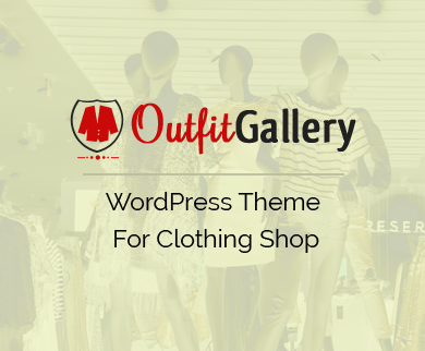 OutfitGallery - Clothing Store WordPress Theme