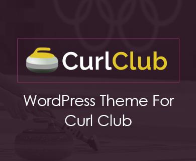 CurlClub - Curling Sports WordPress Theme