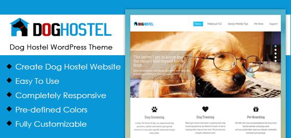 Dog Hostel WordPress Theme